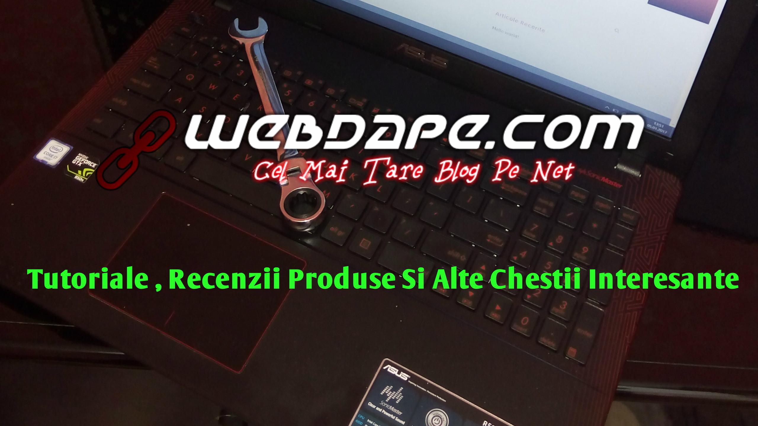 webdape.com cel mai bun website cu informatii despre diferite produse