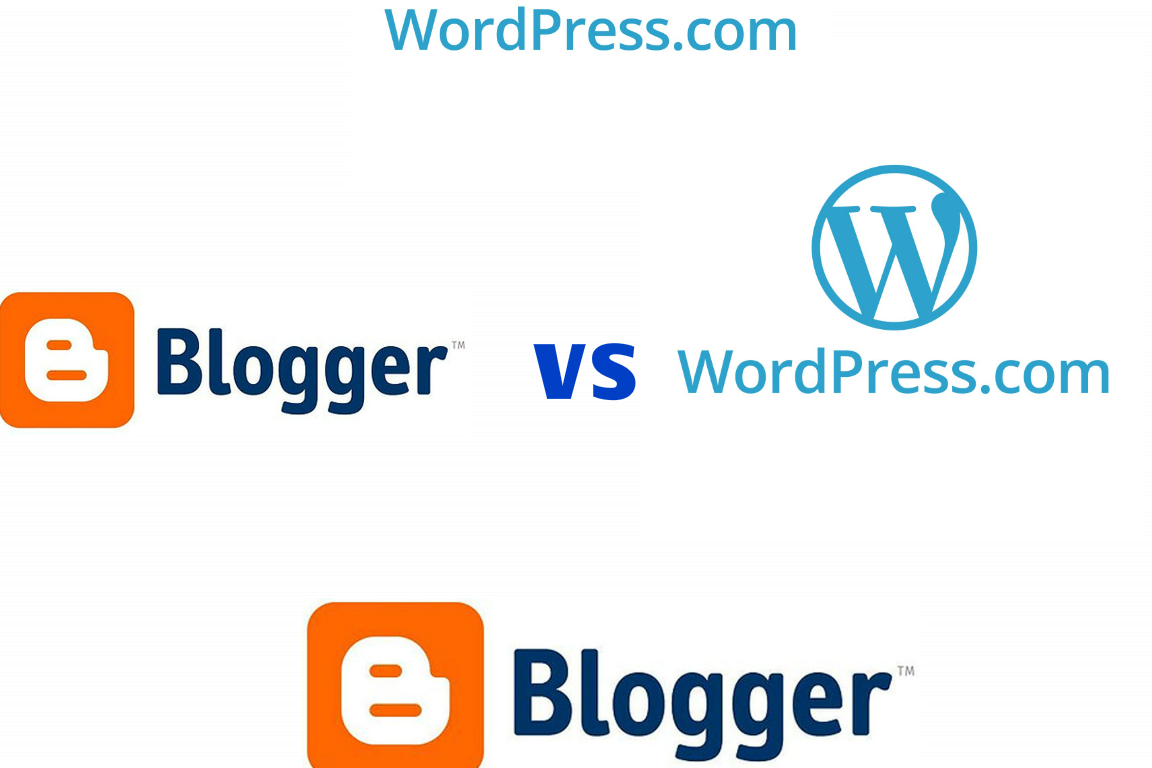 wordpress.com vs blogger.com