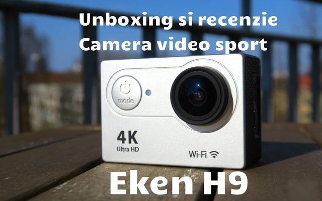 camera video sport 4k ieftina si buna Eken H9