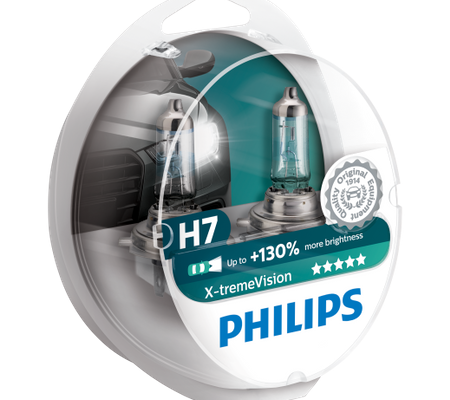 Philips H7 Xtreme Vision ieftine si bune