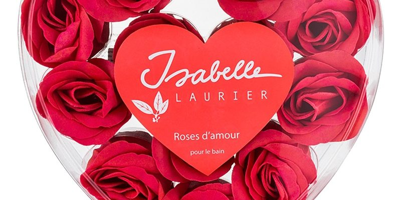 ISABELLE LAURIER Roses petale de trandafir pentru baie romantica