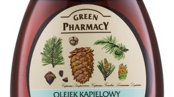 GREEN PHARMACY Body Care Cedar & Cypress & Algae ulei de baie cu miros puternic de conifere