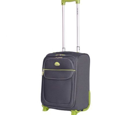 Troler Lamonza Superlight, Gri, 42 cm perfect pentru aeroport