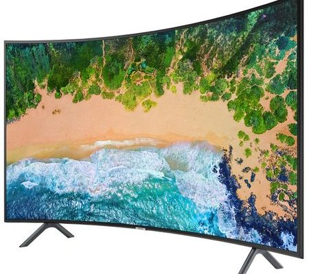 Televizor LED Curbat Smart Samsung, 138 cm, 55NU7302, 4K Ultra HD