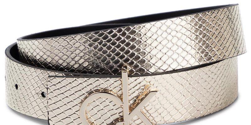 Curea de Damă CALVIN KLEIN Ck Low Belt Rev Giftpack K60K606079