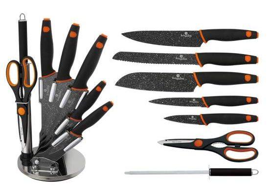 Set de cuțite cu suport - Set 8 piese ReTaste