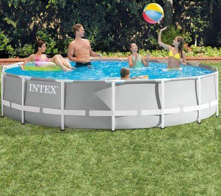 Piscina Intex Prism Frame pret pareri si recenzie completa