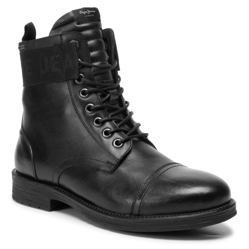 Ghete PEPE JEANS Tom Cut Boot Toto PMS50171 Black 999 recenzie pareri si descriere