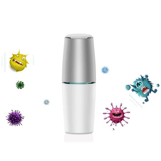 Purize UV-C Active aparat de purificare a aerului.